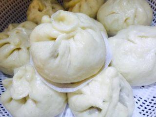 木耳香菇肉包
