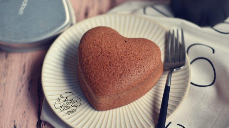 可可海绵蛋糕(4寸爱心)