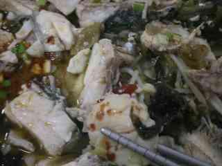 酸菜鲈鱼+#乐享双节#