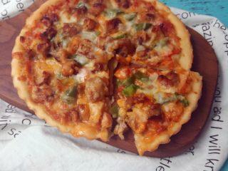 黑椒鸡肉披萨,诱惑