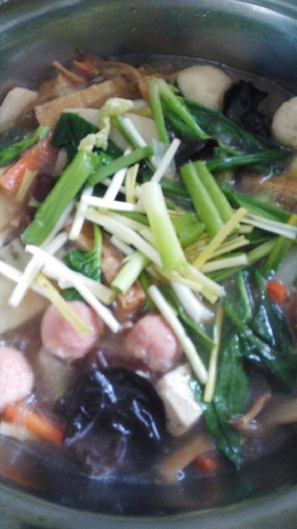暖暖的河南豫菜#杂烩菜#十#乐享双节#