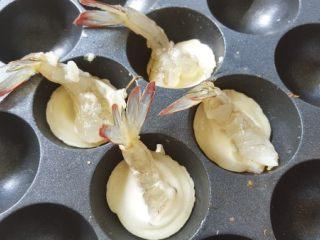 虾扯蛋, 7  放上虾