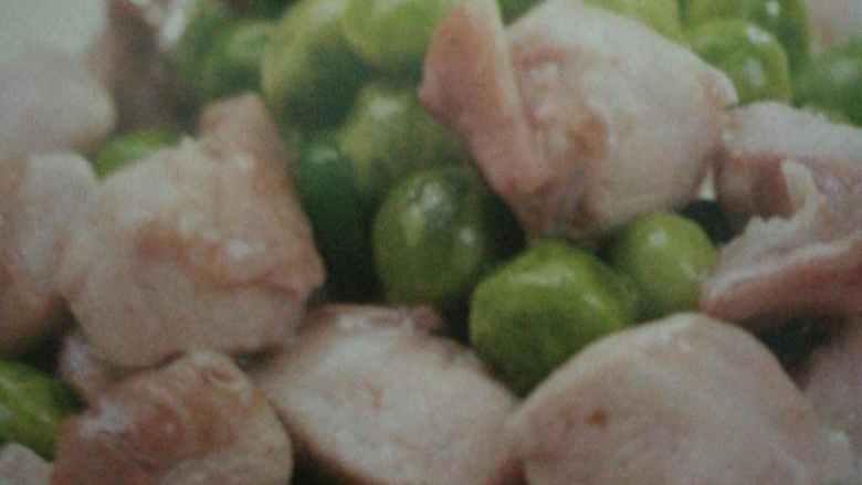 青豆烧兔肉