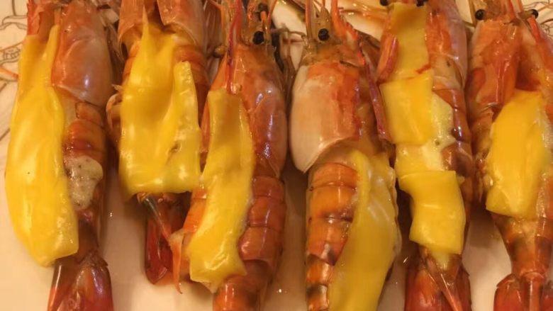 芝士焗大头虾