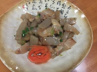 #年夜饭#咸肉炒磨芋