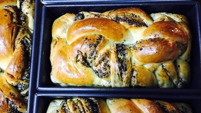 黑芝麻烤面包