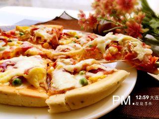 培根时蔬披萨