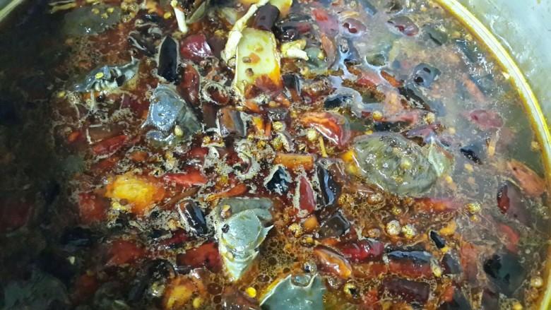 麻辣煮河蟹