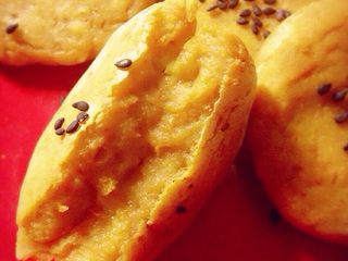 南瓜小糯米饼