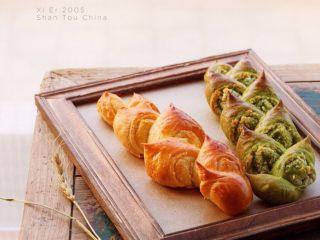 麦穗椰蓉面包,成品图