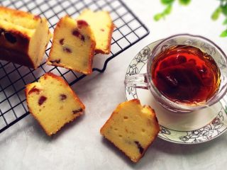 蔓越莓磅蛋糕