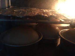 小巨蛋中种面包,及时加盖锡纸 我有一次就是疏忽了,烤的跟包公似的,嘻嘻