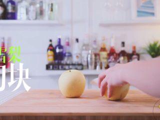 梨漫香汁&橙香满园&苹果乐园,雪梨切块