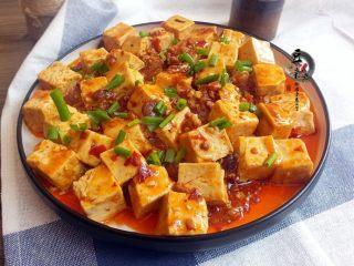 麻婆豆腐,香辣