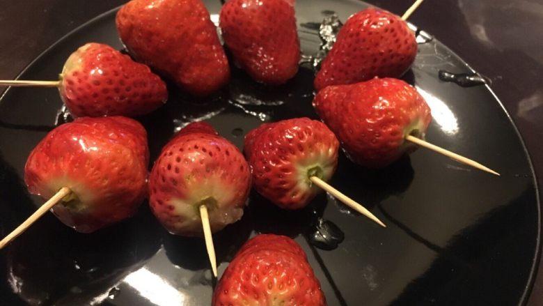 零失败冰糖草莓串