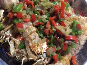 椒盐皮皮虾