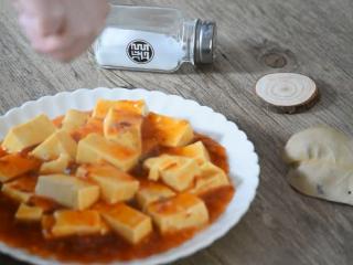 麻婆豆腐——美味诀窍大揭秘!,撒入花椒粉、葱花