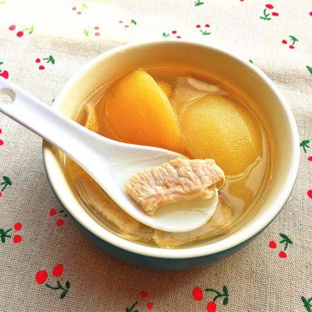 雪梨苹果瘦肉汤
