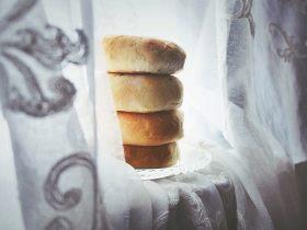 绵软红豆包(普通面粉 健康少油)