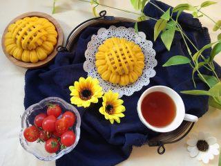 向日葵豆沙面包,早餐桌上绝对的亮眼
