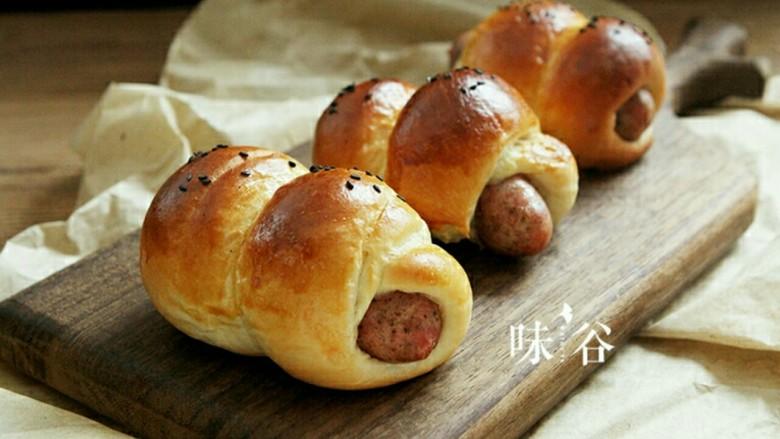 黑椒火腿肠面包