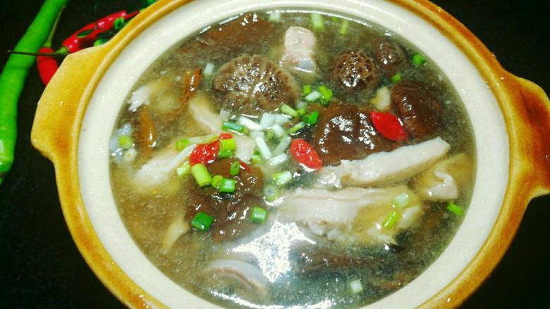 杂菌猪肚汤