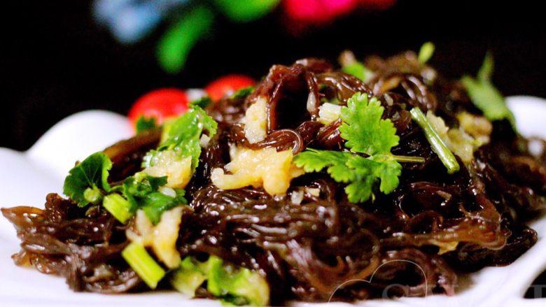 凉拌红毛菜(海藻)#烟台特色#