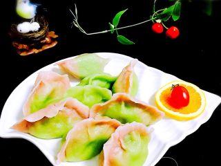 鲅鱼饺子,彩色包邮饺子更诱人