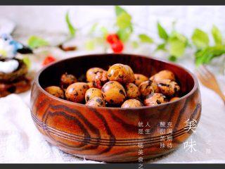 普洱茶卤鹌鹑蛋(王氏私房菜),成品四、完美