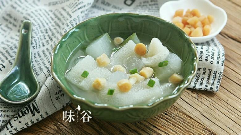 竹荪干贝冬瓜汤
