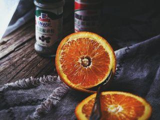 春日香橙萝卜沙拉 健康低卡,插入一个勺子转一圈,即可挖出完整的橙子