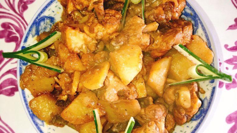 产后宜食 哺乳期土豆炖鸡块