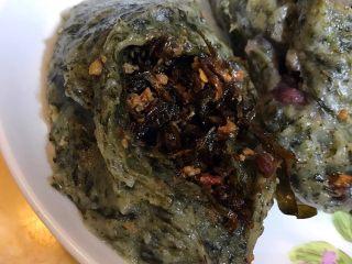 艾馍馍,咸的微辣的菜干味的