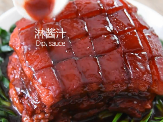 苏州樱桃肉,酥烂入味,色香味俱佳!,淋上酱汁即可