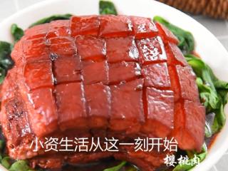 苏州樱桃肉,酥烂入味,色香味俱佳!,苏州人的春天——樱桃肉