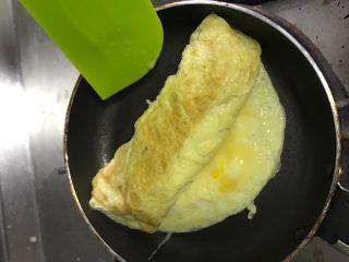 厚蛋烧,一直滚完所有的蛋