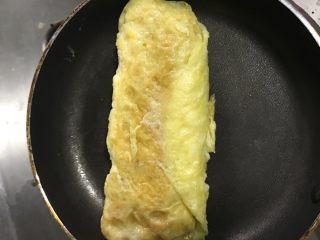 厚蛋烧,滚完了