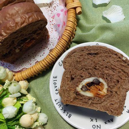 波兰种可可麻薯辣松面包