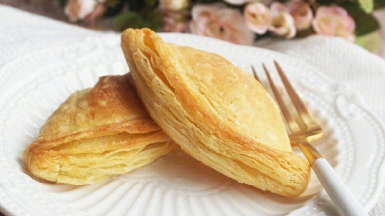 简易榴莲酥(蛋挞皮版本)