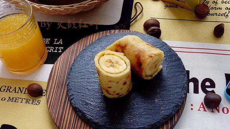 燕麦香蕉卷