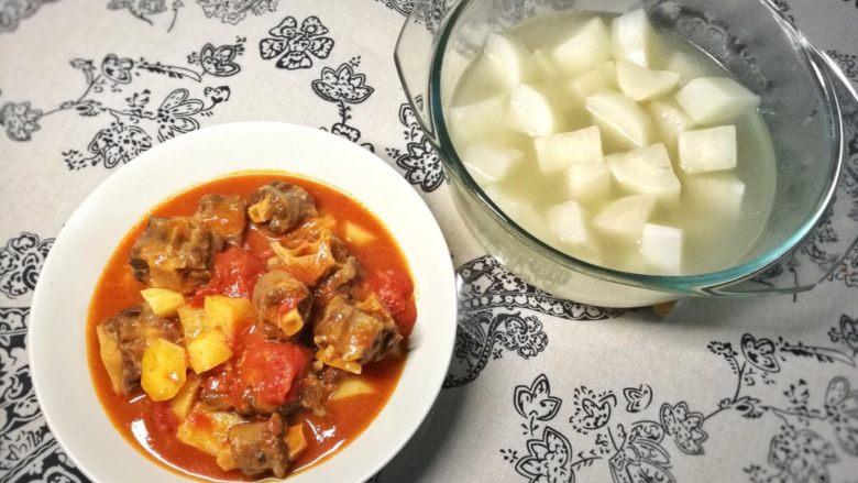 牛尾两吃 | 牛尾萝卜汤&番茄土豆炖牛尾