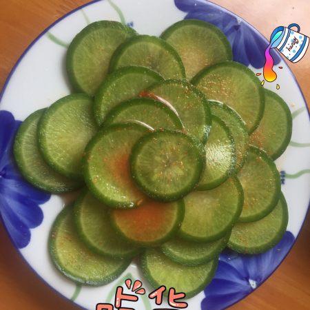 凉拌绿萝卜