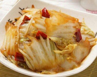 酸辣白菜,成熟起锅