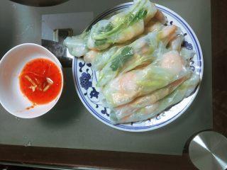 越南春卷,继续翻滚就可以吃了!!!!