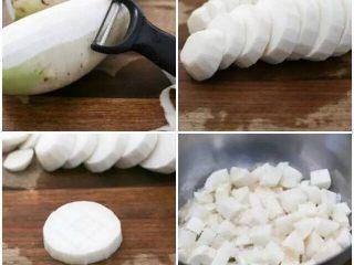 【下饭菜】腌菜集锦,萝卜洗净去皮切块