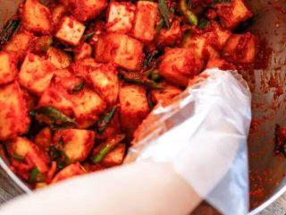 【下饭菜】腌菜集锦,萝卜和酱料拌匀