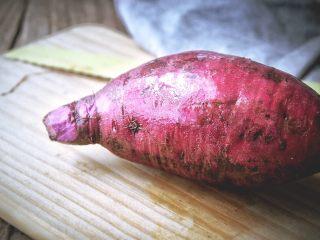 滋阴抗老 紫薯银耳粥,紫薯洗净