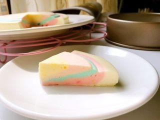 彩虹慕斯蛋糕,成品3
