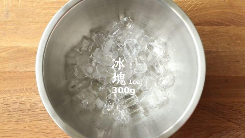 简单十分钟,不用冰箱也能搞定冰淇凌,准备冰块