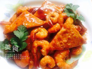 番茄豆腐虾